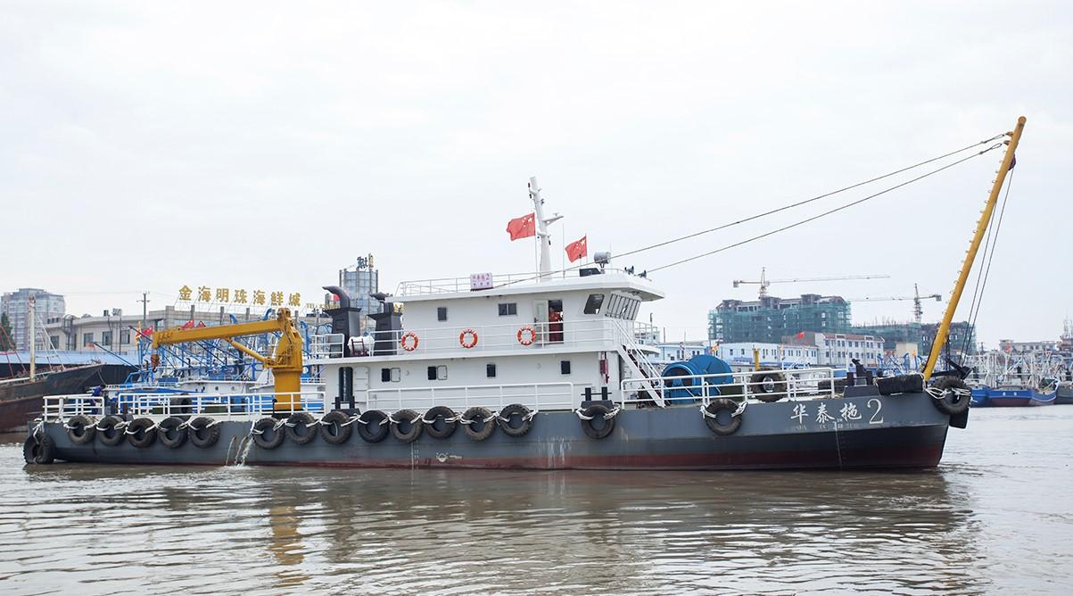 33.6米交通船