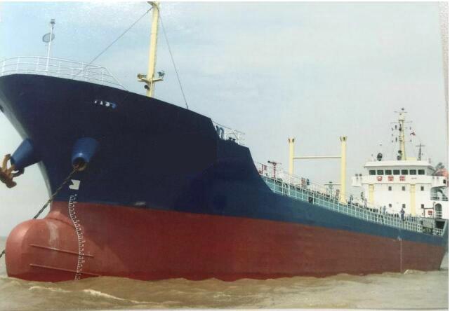 售2006年4800T沿海一级油船