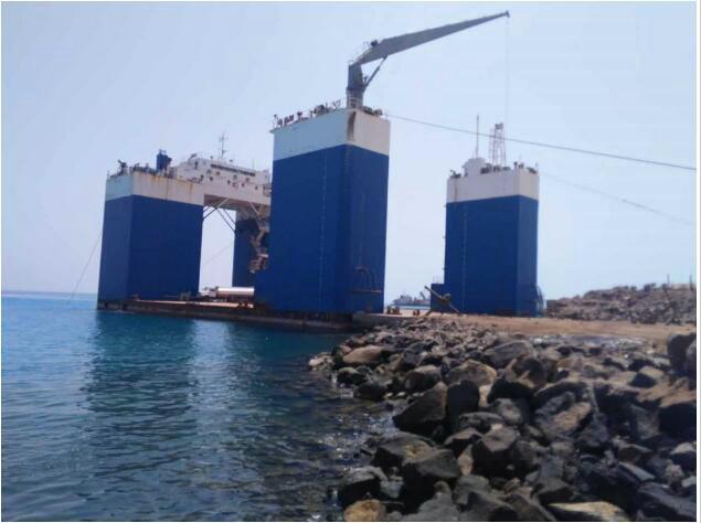 售2014年5000T半潜船/沉箱船