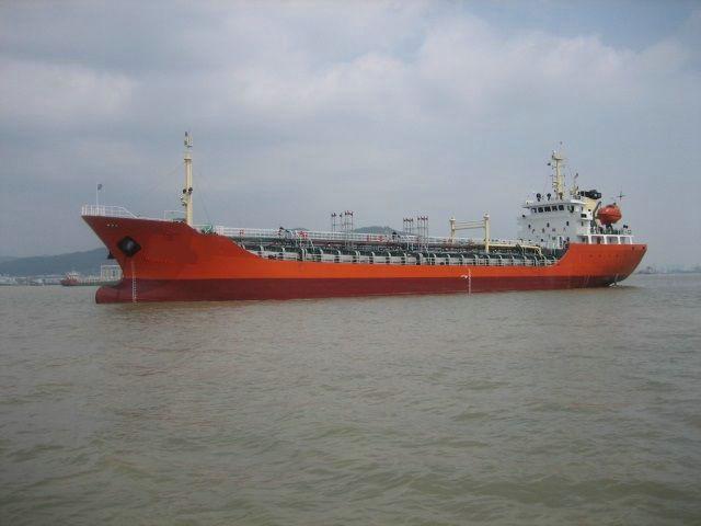 售:3000T沿海化学品船