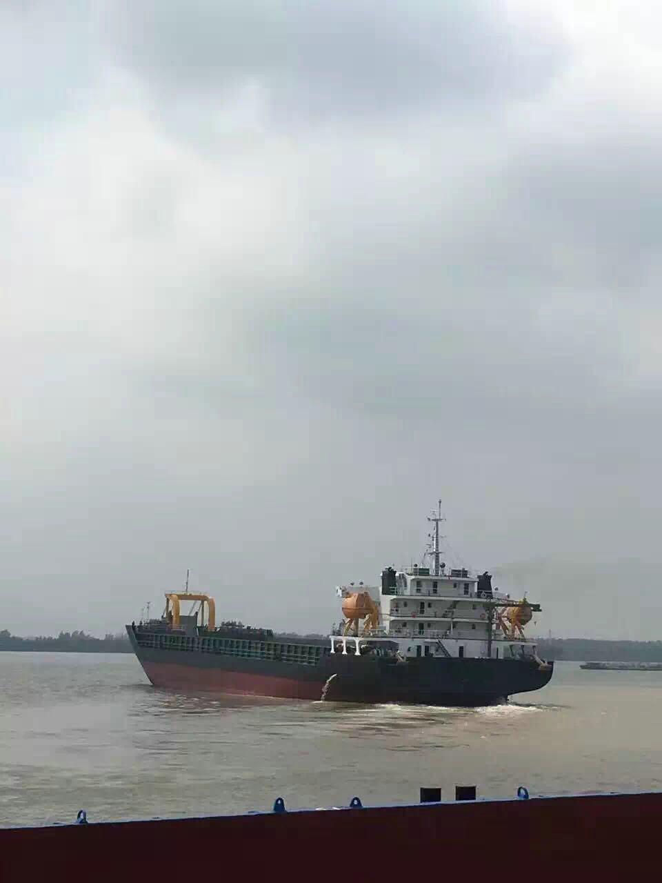 售2014年7450T沿海带跳板甲板货船