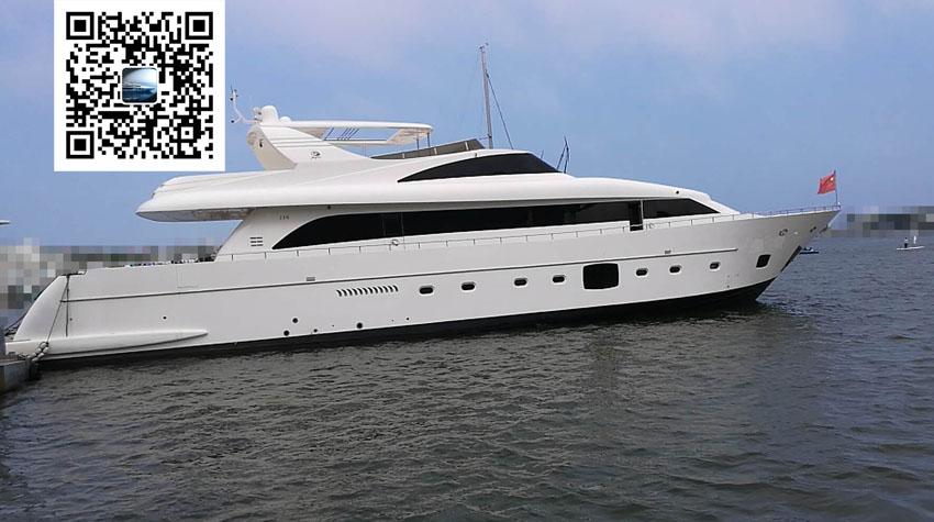 出售2014年造沿海35米大游艇