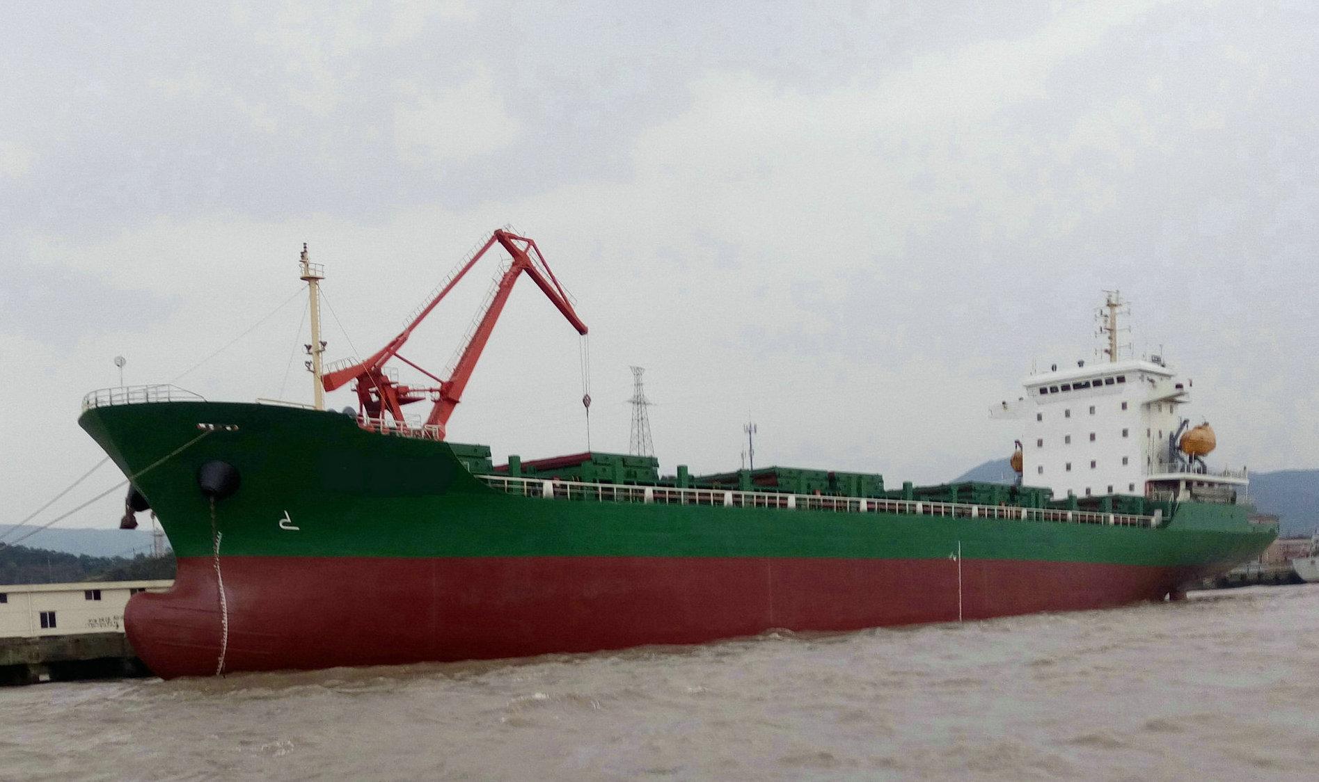 2013年11200T沿海多用途集装箱船