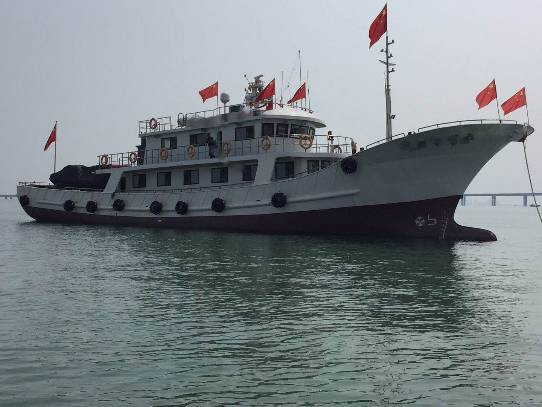 38米钢制游艇出售