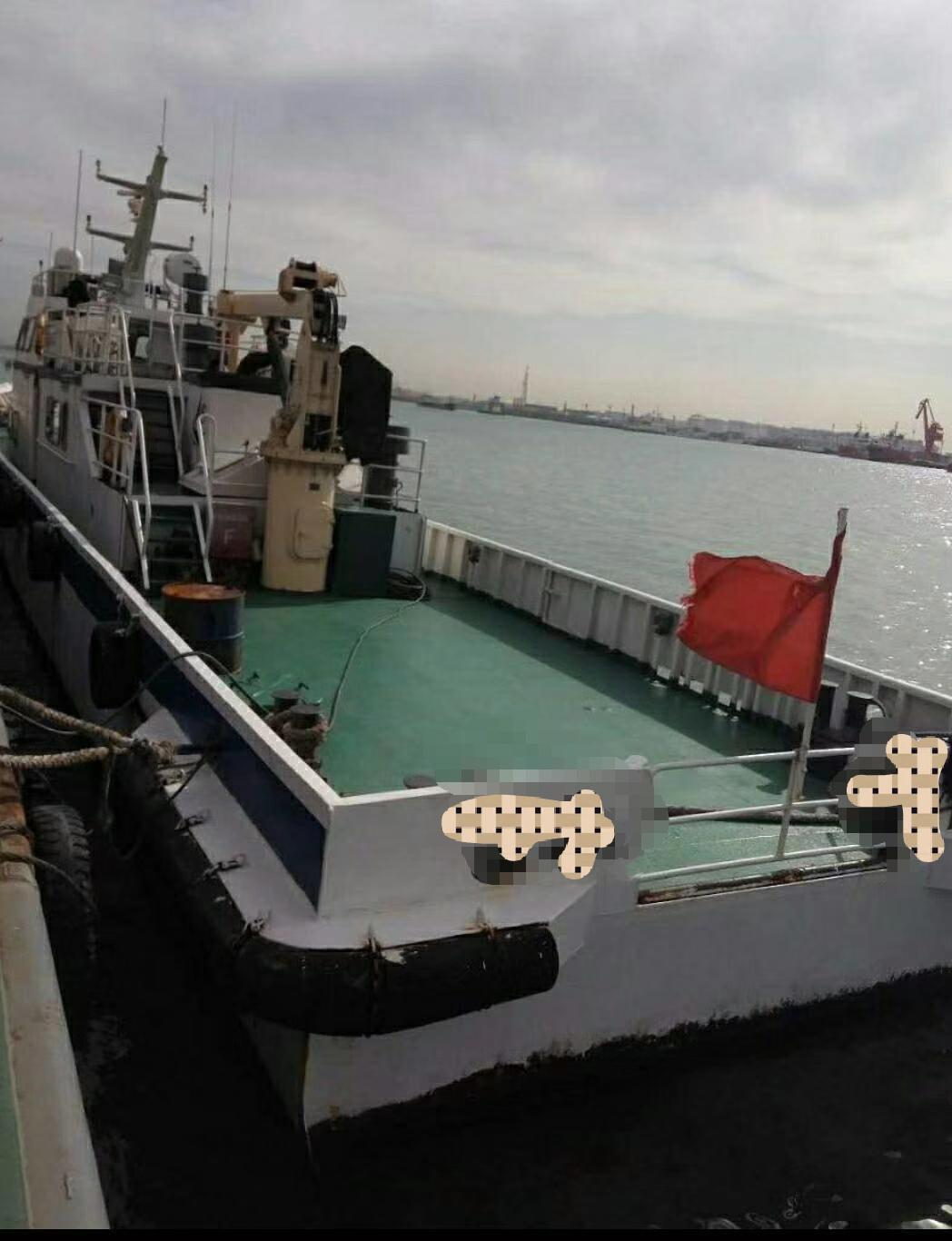 出售2013年29.9米沿海钢制辅助船