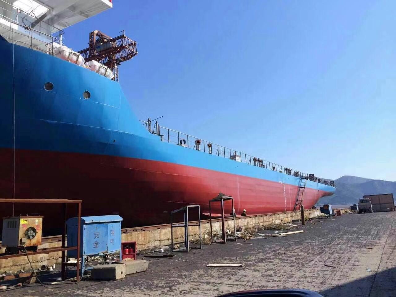 售2015年3395T前驾驶沿海甲板货船