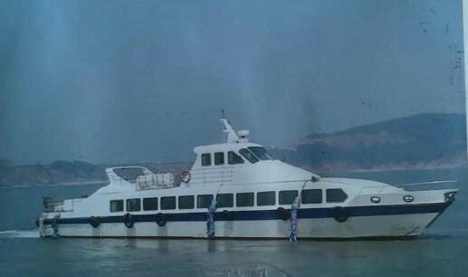售2006年95座沿海客船