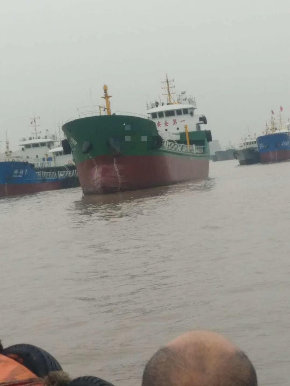 售2008年1000T沿海单壳柴油船