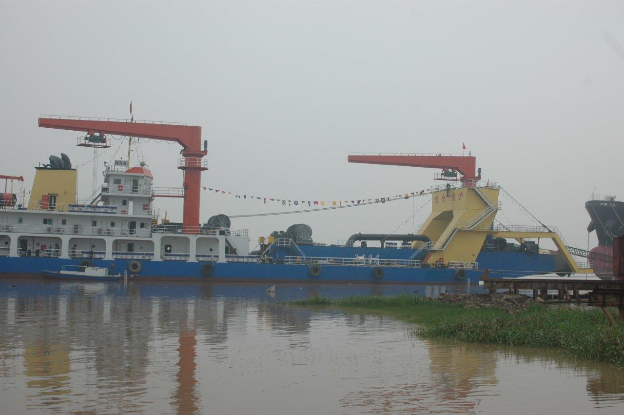 6000M3绞吸挖泥船