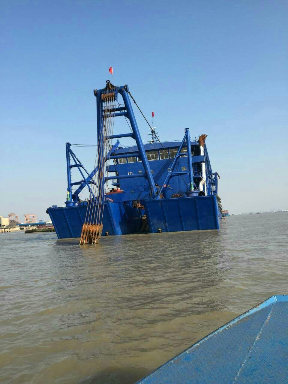 10200马力大型吸沙船