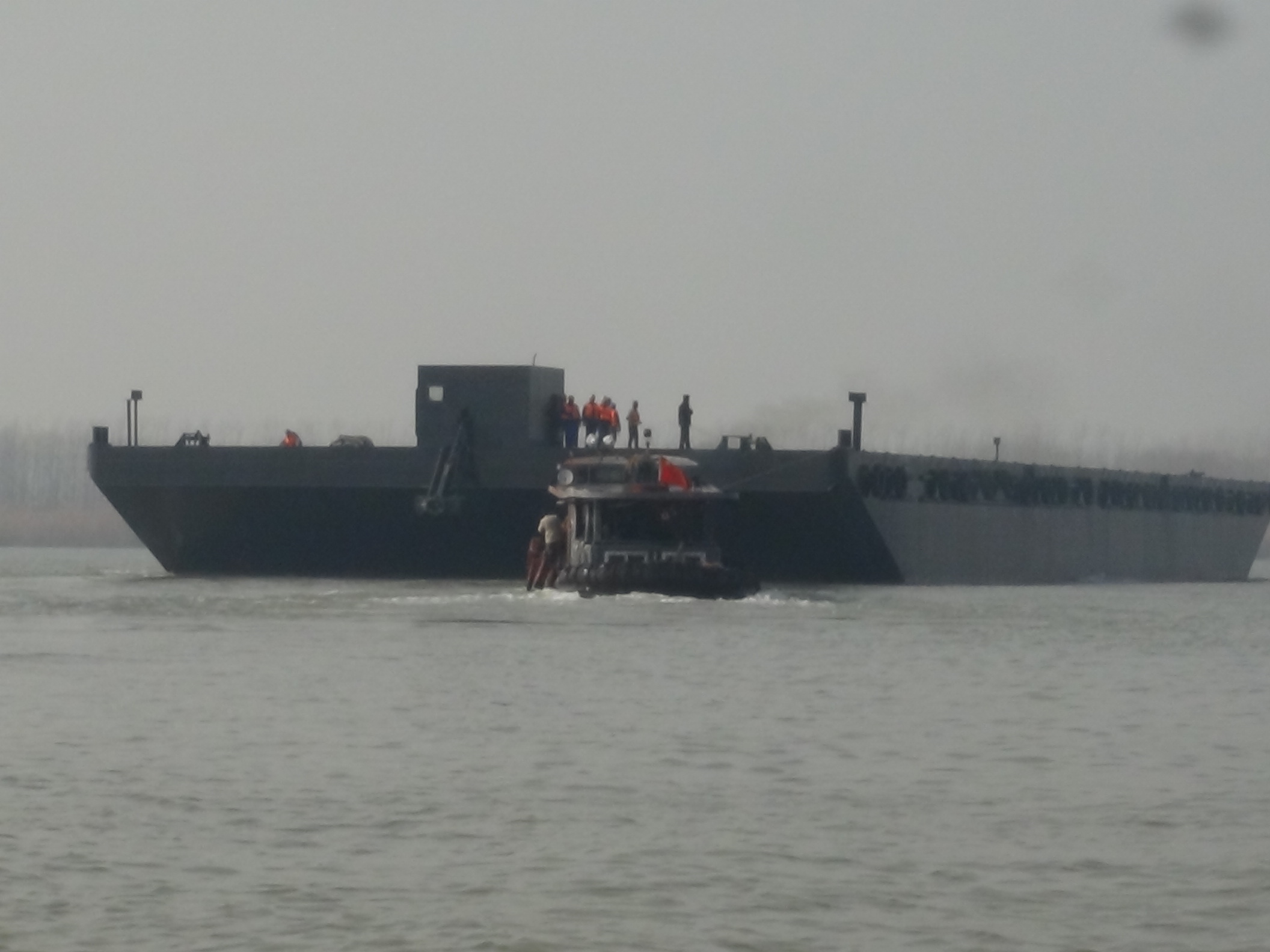 5000T非自航甲板驳