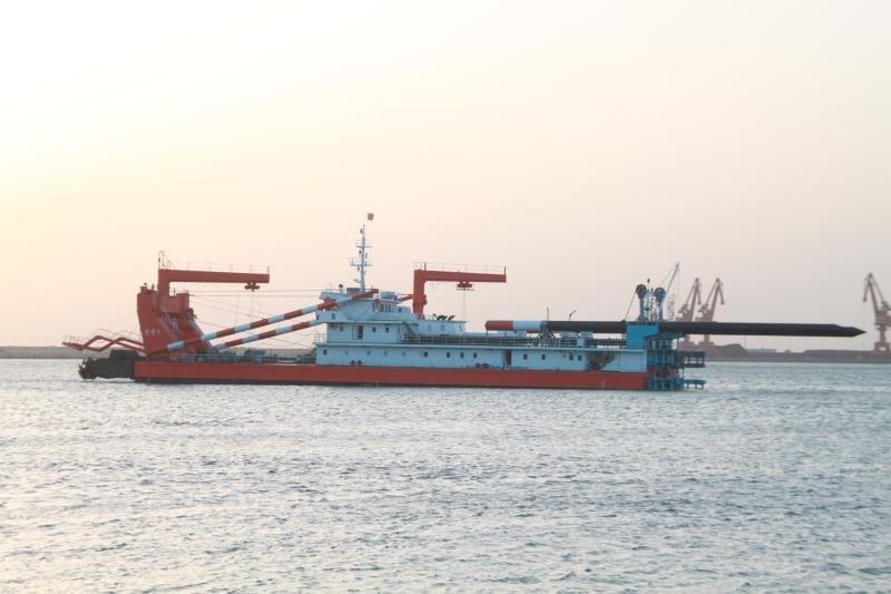 3000M3非自航绞吸挖泥船