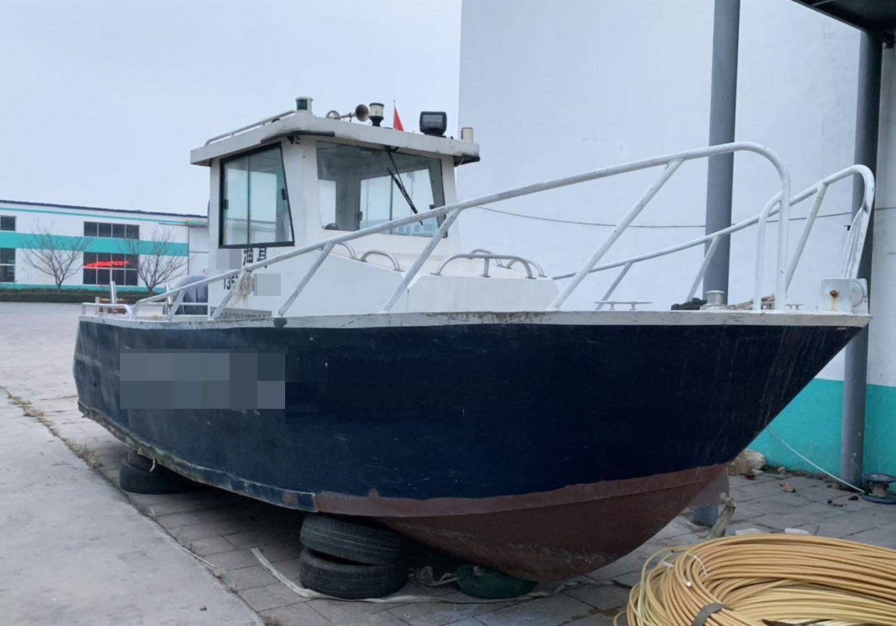 出售2017年7.3米铝合金游艇