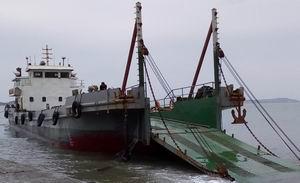低价出售2011年550吨沿海自航驳船