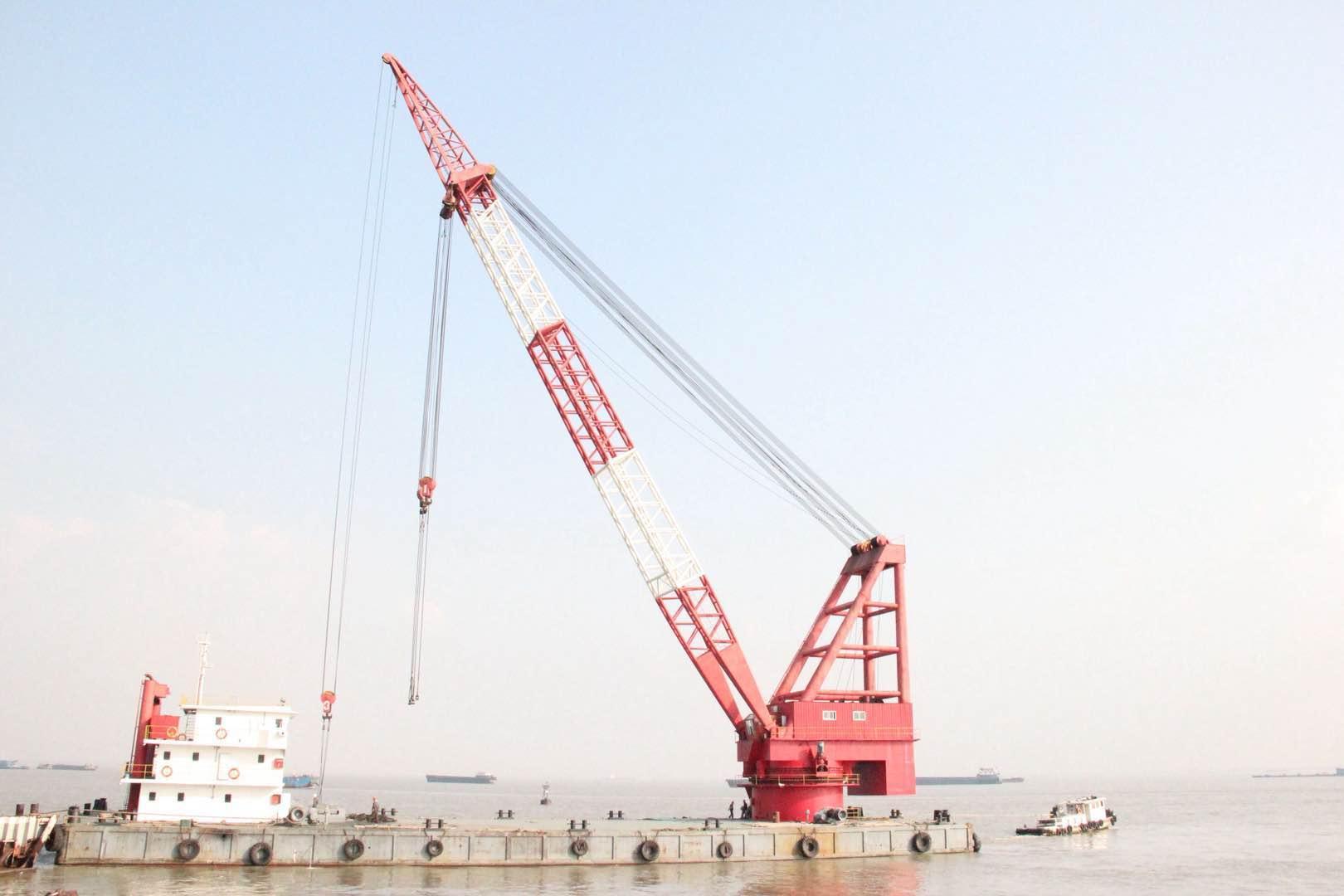 出租100吨沿海起重船