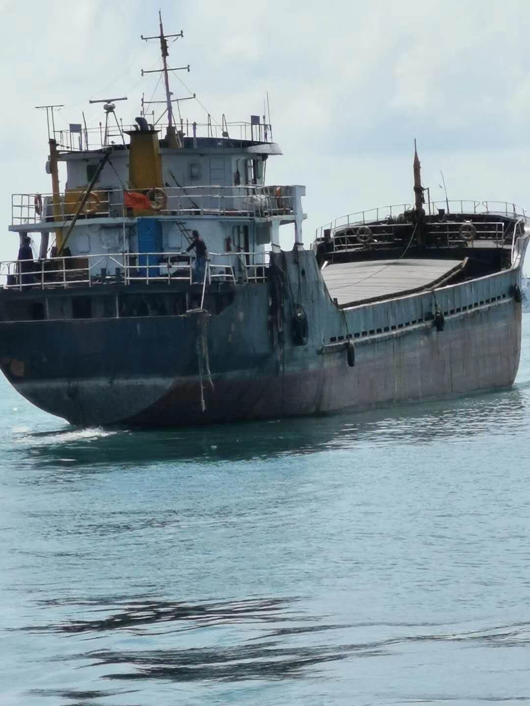 出售2008年造1100吨货船