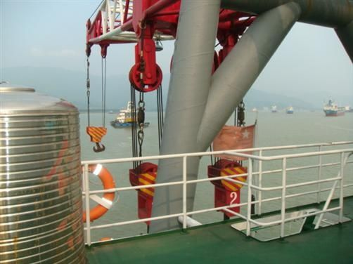 350T浮吊