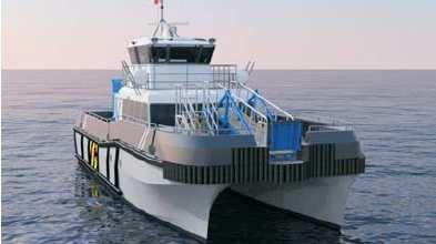 20米海上风电场支持船