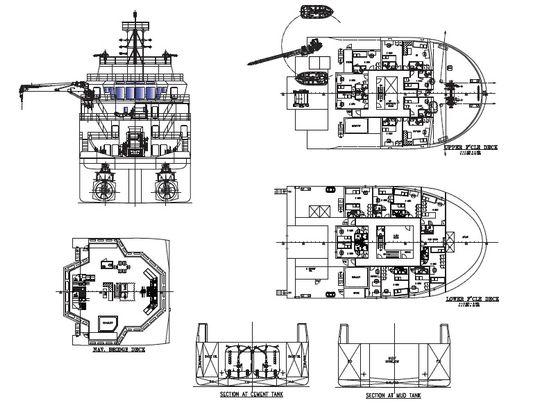 61.8米锚定拖船/补给船