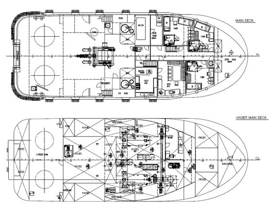 2x 70T BP ASD拖船
