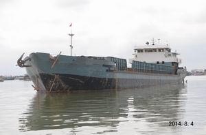 出售2009年造1100吨沿海自航驳船