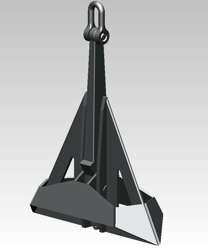 德尔塔锚、德尔泰锚、CJD-14锚,三角锚