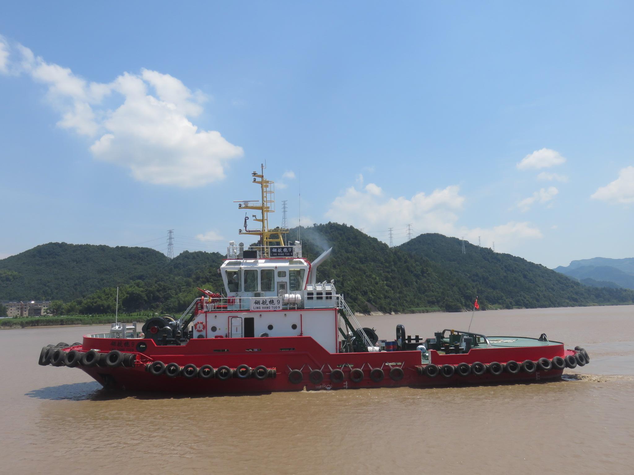 2条6000马力拖轮空放北上海上拖带,价格优惠!
