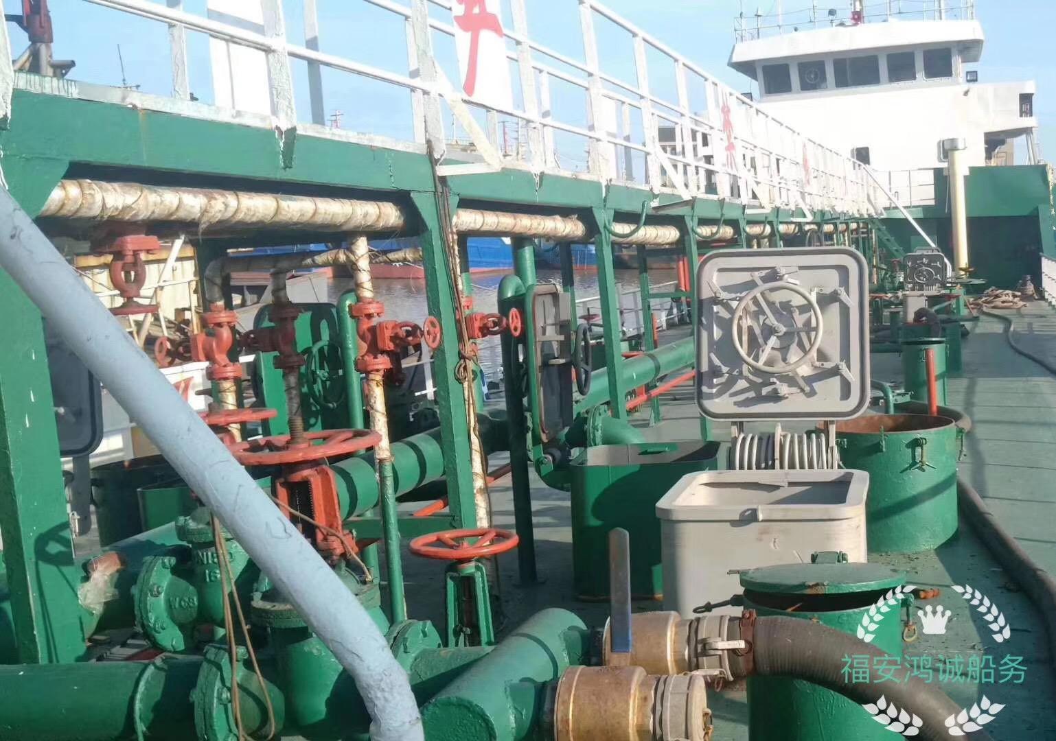 出售1000吨轻油船:2009年8月浙江造