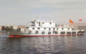 出售2018年造34.3米近海交通船