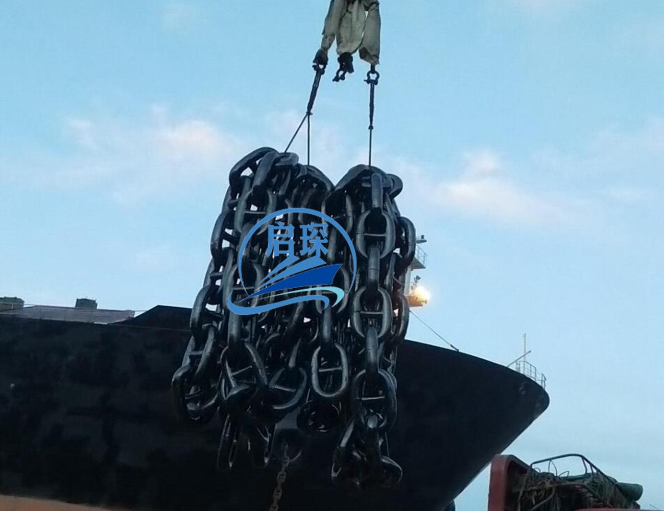 江苏锚链厂12毫米-130毫米有档锚链 无档锚链 全新现货