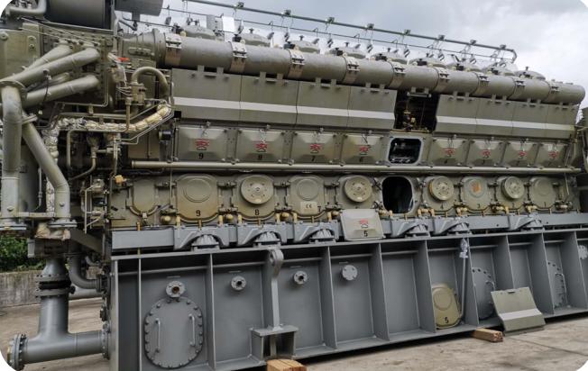 STX MAN 18V 32/40 重油发电机组