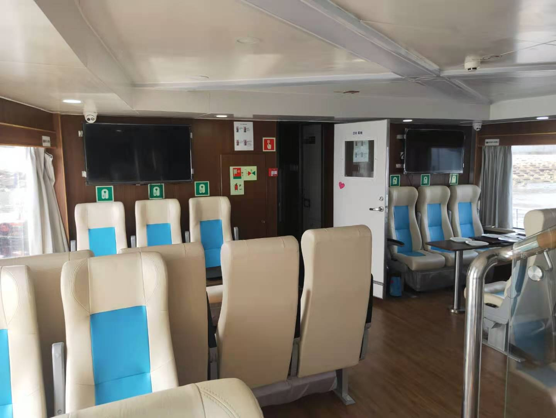99座豪华客船,准新船共3艘,船东直售