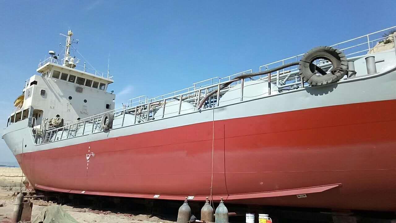 沿海自卸水泥船